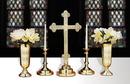Sudbury LT398 Set Of 2 Budded Candlesticks With Filigree Design