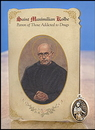 Ambrosiana MC025 Maximillian Kolbe Addiction Healing Medal Set