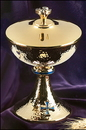 Sudbury MC353 Blue Cross Ciborium With Cover