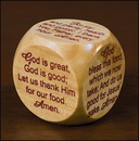 Living Grace MC525 Mealtime Prayer Cube