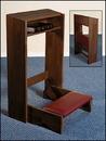 Robert Smith MD013 Folding Kneeler - Walnut Finish