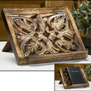 Robert Smith MD033 Ornate Wood Carved Bible/Missal Stand
