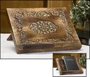 Robert Smith MD034 Medallion Wood Carved Bible/Missal Stand