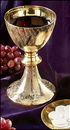 Sudbury MS897 Celtic Cross Chalice With Paten