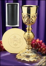 Sudbury NC901 Coronation Chalice With Ihs Paten & Case