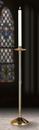 Sudbury NC911 Brass Paschal Candlestick