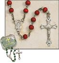 Creed ND306 Value Rosary - Rose Petal Boxed