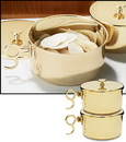 Sudbury NS032 1000 Host Brass Stacking Ciboria With Lid