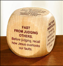Living Grace NS486 Fasting Prayer Cube