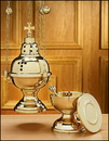 Sudbury NS694 Eastern Rite Censer With 12 Bells And Boat Set