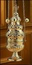 Sudbury NS771 Ornate Censer With 12 Bells
