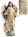Avalon Gallery NT202 Figures Of Faith - Guardian Angel With Children