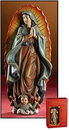 Avalon Gallery PC944 Our Lady Of Guadalupe Statue