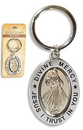Christian Brands PD015 Divine Mercy Revolving Key Ring