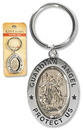 Christian Brands PD016 Guardian Angel Revolving Key Ring