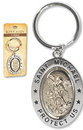 Christian Brands PD020 St  Michael Revolving Key Ring