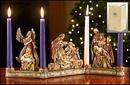 Christian Brands PD024 Nativity Candleholder