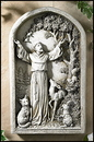 Avalon Gallery PS733 Saint Francis Plaque