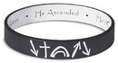 Faithworks RA169 Black/White Witness Reversible Wristband