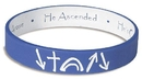 Faithworks RA174 Royal Blue/White Witness Reversible Wristband