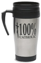 Christian Brands RC991 100% Catholic Stainless Steel Coffee Tumbler