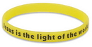 Living Grace RS001 Jesus Is The Light Of The World Neon Wristband