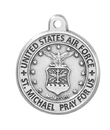Christian Brands SO243AF Air Force Heritage Medal With 20