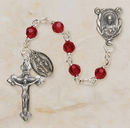 Creed SO26RU5D Ruby Vienna Collection Rosary