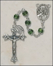 Creed SO27EMDC20D Double Capped Vienna Emerald Rosary