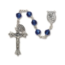 Christian Brands SO27SP20D Sapphire Vienna Collection Rosary