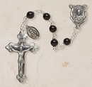 Creed SO36OX5D Genuine Onyx Italian Semi-Precious Rosary