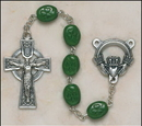 Creed SO67SR7644CLAD Shamrock Our Lady Of Knock Irish Rosary