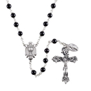 Creed SO76BLK Heritage First Communion Rosary - Black