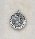 Creed SS1505 Sterling Silver St. Christopher Medal