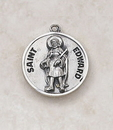 Creed SS727-17 Sterling Patron Saint Medal