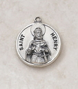Creed SS727-23 Sterling Patron Saint Henry Medal