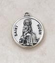 Creed SS727-24 Sterling Patron Saint Hugh Medal