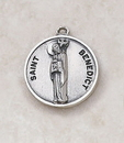 Creed SS727-7 Sterling Patron Saint Benedict Medal