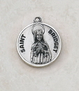 Creed SS729-10 Sterling Patron Saint Bridget Medal