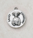 Creed SS729-12 Sterling Patron Saint Catherine Medal