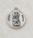 Creed SS729-17 Sterling Patron Saint Edith Medal