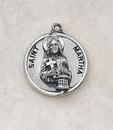Creed SS729-40 Sterling Patron Saint Martha Medal