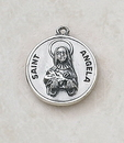 Creed SS729-4 Sterling Patron Saint Angela Medal