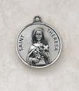 Creed SS729-50 Sterling Patron Saint Theresa Medal