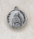 Creed SS729-54 Sterling Patron Saint Blessed Kateri Medal