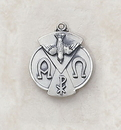 Creed SS9456 Sterling Holy Spirit Patron Saint Medal