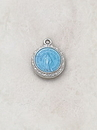 Creed SSW61B Silver/Blue Miraculous Medal
