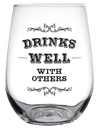 Christian Brands SWIN22-2560F Drinks Well With Others - Stemless - JKC