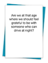 Christian Brands TA-239 Greeting Card - Grateful Drive Night