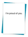 Christian Brands TA-248 Greeting Card - I'm proud of you
